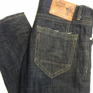 Heritage American distressed jeans 36x33